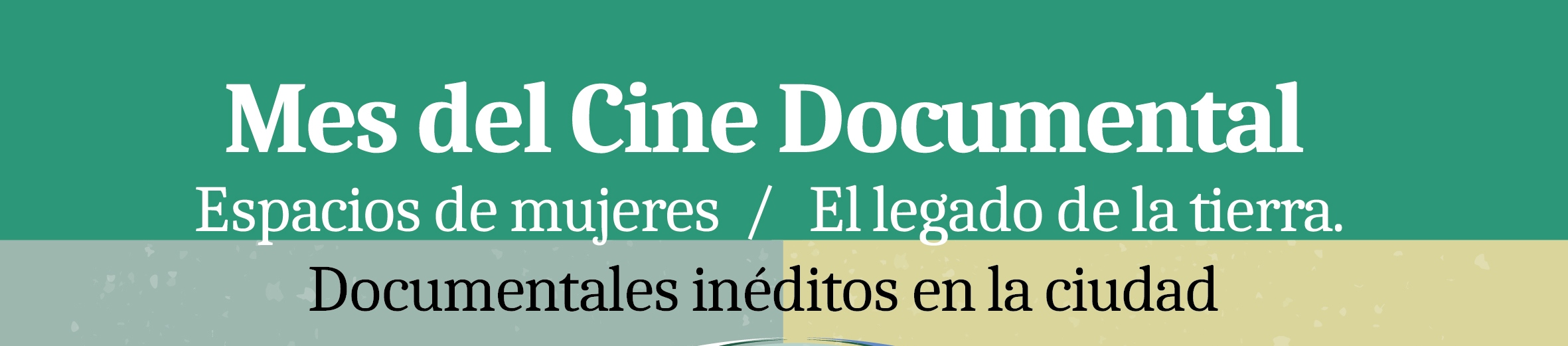 Especial mes del cine documental