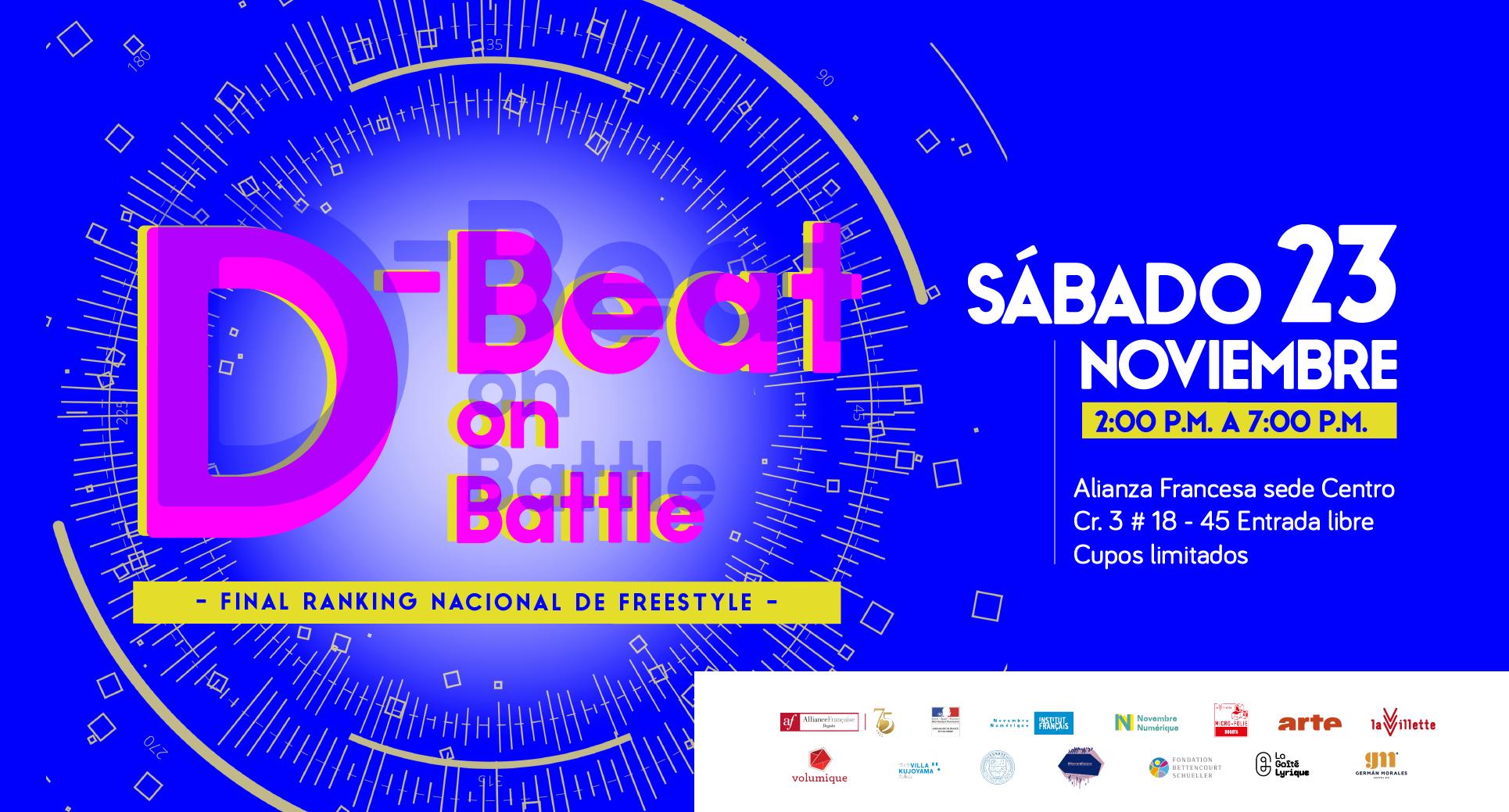 D-Beat on Battle: Ranking Nacional de freestyle.