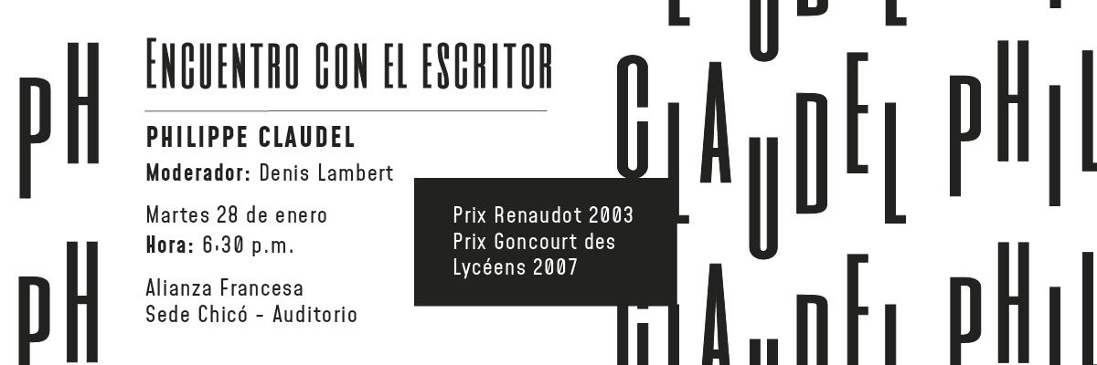Encuentro con Philippe Claudel