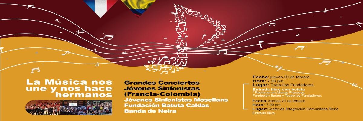 Concierto jóvenes sinfonistas (Francia-Colombia)