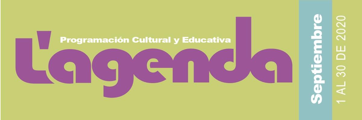 Agenda cultural en linea mes de septiembre