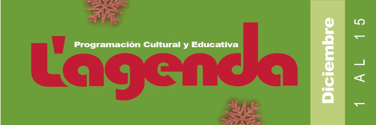 Agenda cultural en línea diciembre